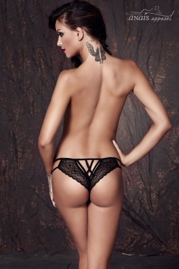 CONNIE - Lace briefs with strings.