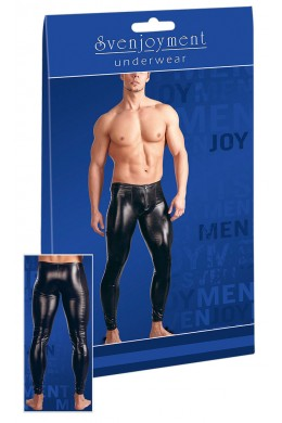 Svenjoyment - Wetlook trousers.