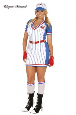 All American Player baseball costume 5 pcs. XL
