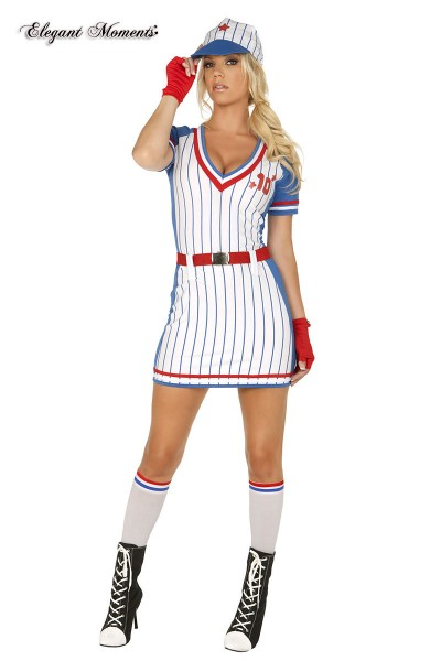 All American Player baseball costume 5 pcs.