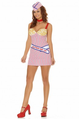 Buttery Babe 4 PC Costume.