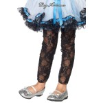 Leg Avenue Kids: Stretch lace footless tights.