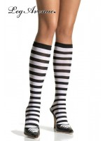 Leg Avenue: Striped knee highs.
