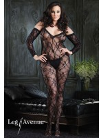 Leg Avenue: plus Size Lace Bdy Stkng