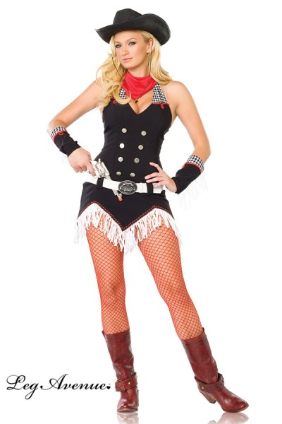 Leg Avenue: Shoot Em Up Cowgirl Costume 4 pc.