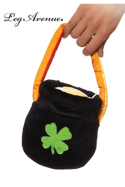 Leg Avenue: Plush pot o gold purse.