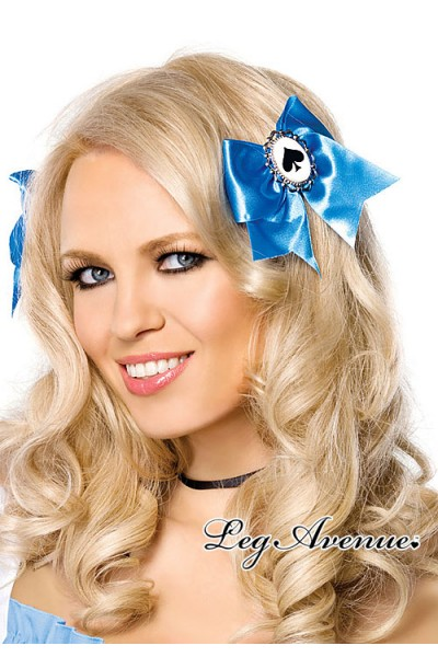 Leg Avenue: Alice hair bows with poker suit charms.