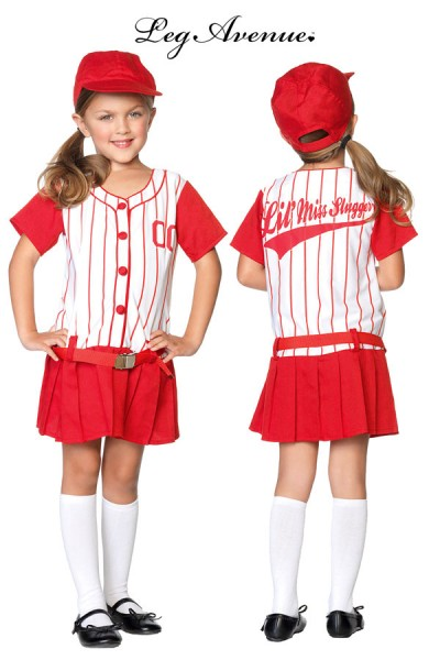 Leg Avenue: 3pc Lil Miss Slugger.