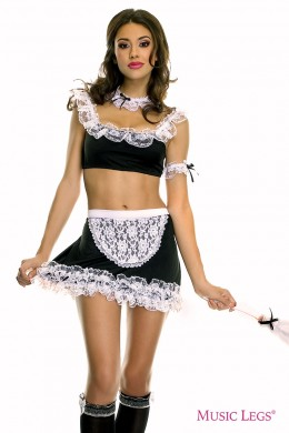 French Maid outfit 6 pcs.