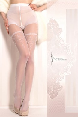 Ballerina: white tights. Mod. 376