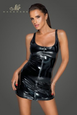 PVC dress with 2-way zipper