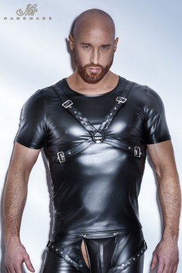 Powerwetlook T-Shirt with harness.
